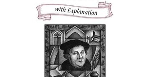 Hardback Edition: Luther's Small Catechism with Explanation, 2017
