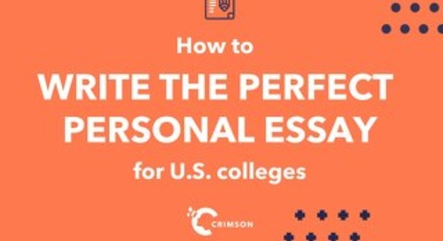 How To Write The Perfect Personal Essay - Crimson Education