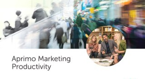 Marketing Productivity Brochure