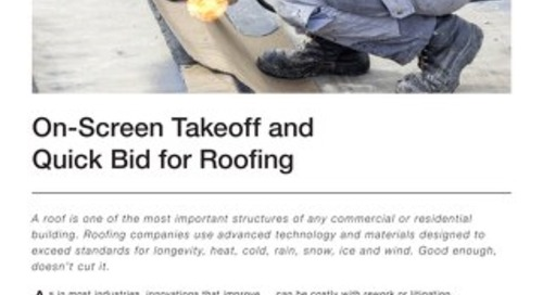 Takeoff and Estimating for Roofing Contractors