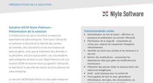 Nlyte Platinum Edition Product French