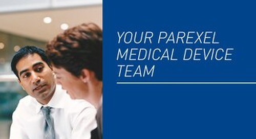 Meet PAREXEL's Medical Device Experts
