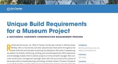 Unique Build Requirements for a Museum Project