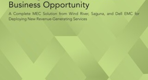 Enabling Multi-access edge computing (MEC) as a New Telco Business Opportunity