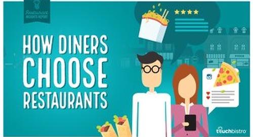 HOW DINERS CHOOSE RESTAURANTS [RESTAURANT INSIGHTS REPORT]
