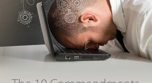 The 10 Commandments for Creating Online Learning