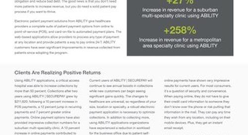 Patient Payment Tools Reclaim Revenue