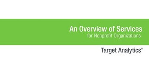 Brochure: Target Analytics Overview