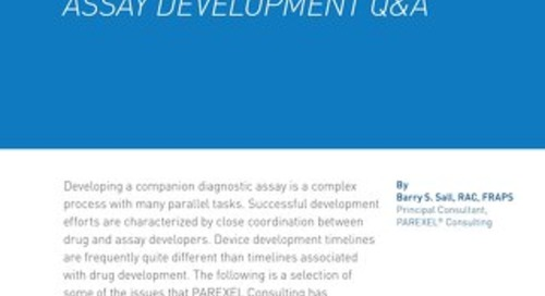 Companion Diagnositc Array Development Q & A
