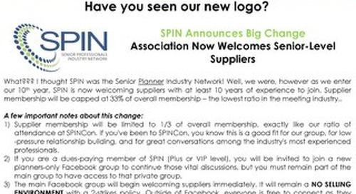 October 2017 SPIN:News