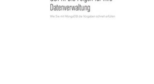 GDPR German Whitepaper