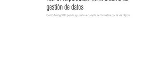 GDPR Spanish Whitepaper