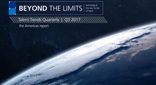 Talent Trends Quarterly   Q3 2017 Americas Report