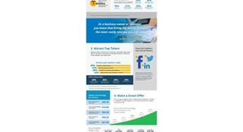 Infographic: 5 Quick Tips to Hire a Great Estimator