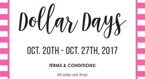 Dollar Days 2017
