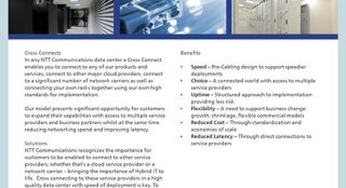 Cross Connects Product Description