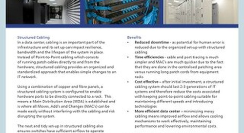 Structured Cabling Product Description