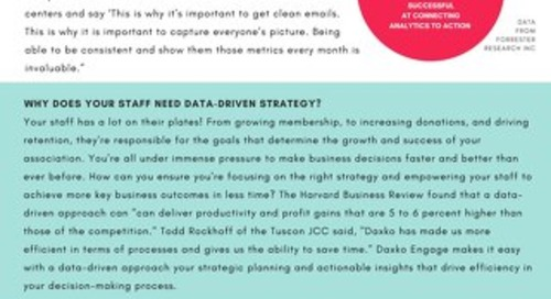 Data-Driven Strategy for Executives