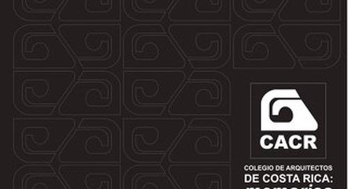 Colegio de Arquitectos de Costa Rica, Memorias.