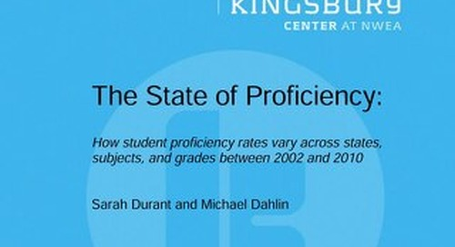 The State of Proficiency
