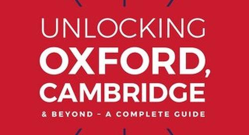 Unlocking Cambridge, Oxford & Beyond - Crimson Education