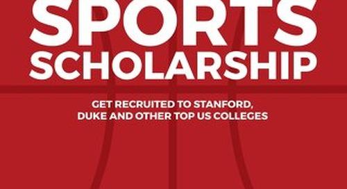 Score a Sports Scholarship eBook - Crimson Education