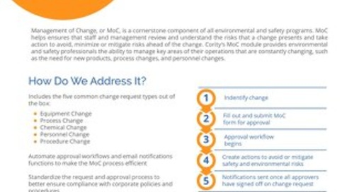 Management of Change One Pager