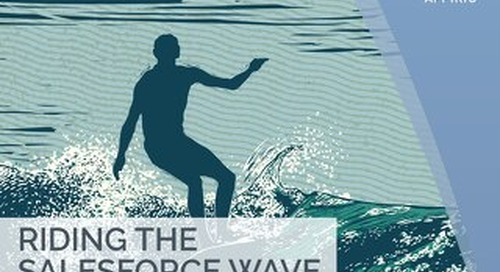 Riding the Salesforce Wave