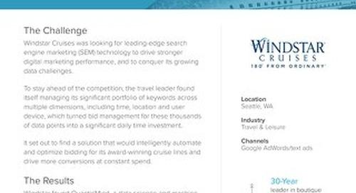 QuanticMind Customer Success Story - Windstar Cruises