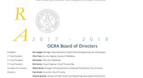2017 September Board Highlights