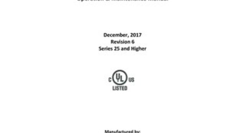 [Manual] PharmaGard NU-PR797 Series 25 Positive Pressure Compounding Aseptic Isolator Product Manual