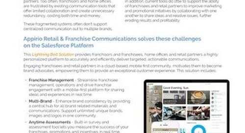 Retail & Franchise Communication - Lightning Bolt Solution