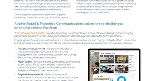 Retail & Franchise Communication - Lightning Bolt Solution