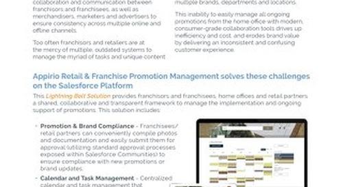 Retail & Franchise Promotion Management - Lightning Bolt Solution