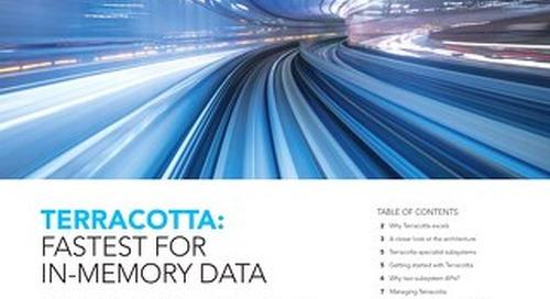 Terracotta DB: Fastest for In-Memory Data