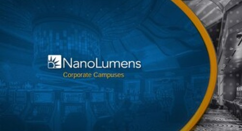 NanoLumens Corporate Campus Deck