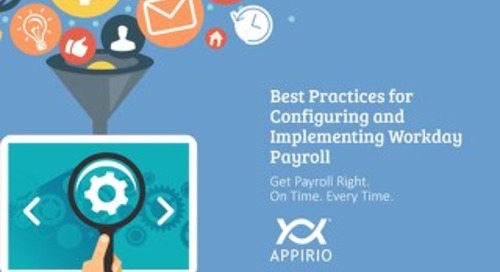 Best Practices for Configuring & Implementing Workday Payroll