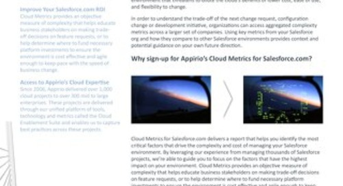 Cloud Metrics for Salesforce