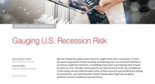 Gauging U.S. Recession Risk
