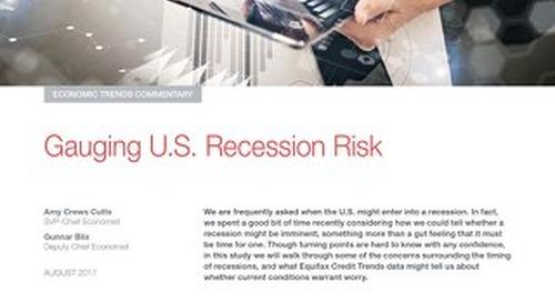 Gauging U.S. Recession Risk