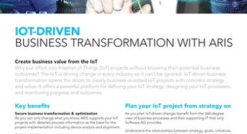 IoT-driven business  transformation with ARIS