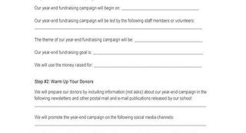Blackbaud Year-End Fundraising Template