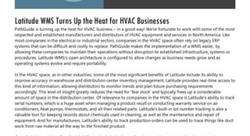 Supporting HVAC