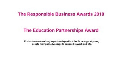The Education Partnerships Award Guidance document 2018
