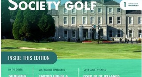 Society Golf Digital Magazine - Issue 1