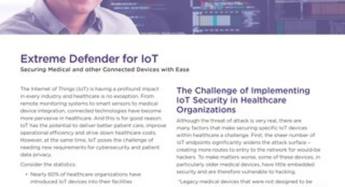 Making IoT Easy with Extreme Networks Surge Solution