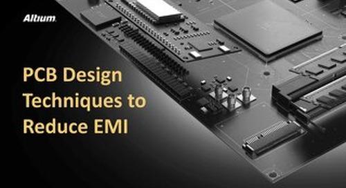 PCB Design Techniques to Reduce EMI