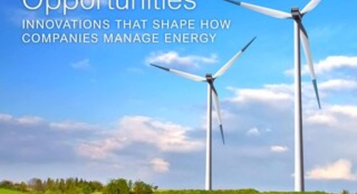 New Energy Opportunities: Innovations That Shape How Companies Manage Energy (Europe) - Whitepaper