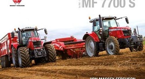 MF 7700 S - DE