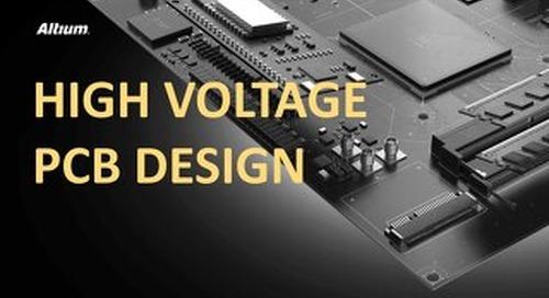 High Voltage PCB Design